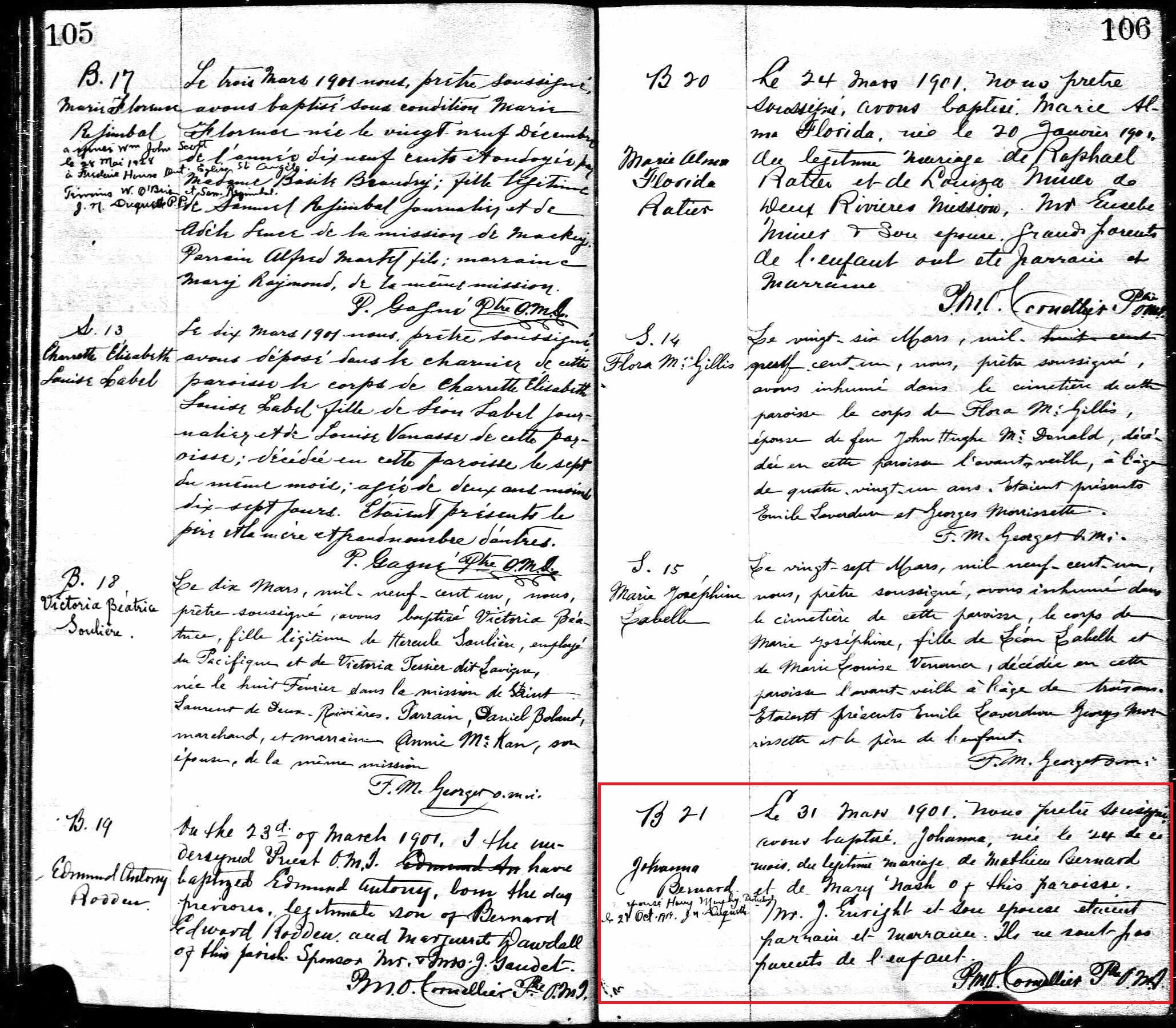 Birth & Baptism Records
