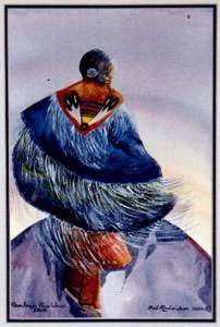 """""""A Free Spirit."""" Painting by Bob Richardson. Photo courtesy of Bob Richardson."""